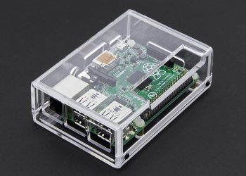 Raspberry Pi Model B+&2 Case. Photo: DR