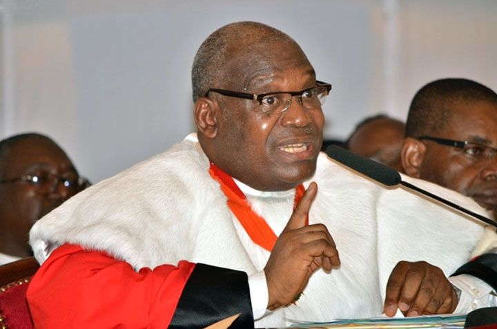 Koné Mamadou, Président du conseil constitutionnel de Côte d'ivoire. Photo: DR