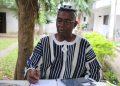 Jean Pierre Sanga, président de la coopérative de producteurs de café-cacao à Facobly dans l'ouest de la Côte d'Ivoire. Photo: Philippe K/AfrikiPresse