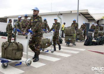 RAPATRIEMENT DE CONTINGENTS BANMED A L'AEROPORT FELIX HOUPHOUET BOIGNY.
