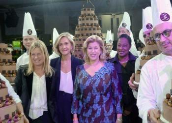 La fondation Children Of Africa honorée au 25e salon du Chocolat à Paris