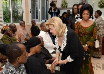 la compassion de Dominique Ouattara à la famille Diby, décédé le 7 décembre 2019