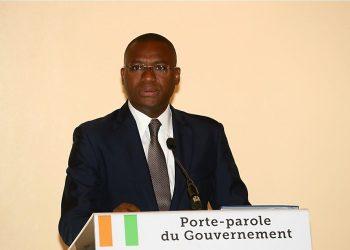 Sidi  Touré, ministre de la communication et des médias, porte-parole du gouvernement. Photo: DR