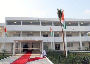 Siège du Sénat Ivoirien à Yamoussoukro. Photo: Cicg