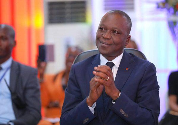 Amadou Koné,ministre des transports de Côte d'Ivoire. Photo: DR