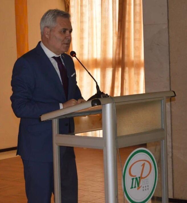 photo: afrikipresse L'ambassadeur  d' Israel en Côte d'Ivoire, Leo Vinovezky