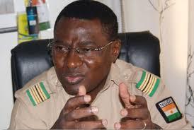 Le président de la FENIFOOT, le Colonel-major Djibrilla Hima Hamidou (ph FENIFOOT)
