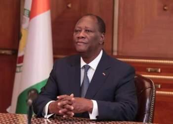 Alassane Ouattara, président de Côte d'Ivoire. Photo: DR