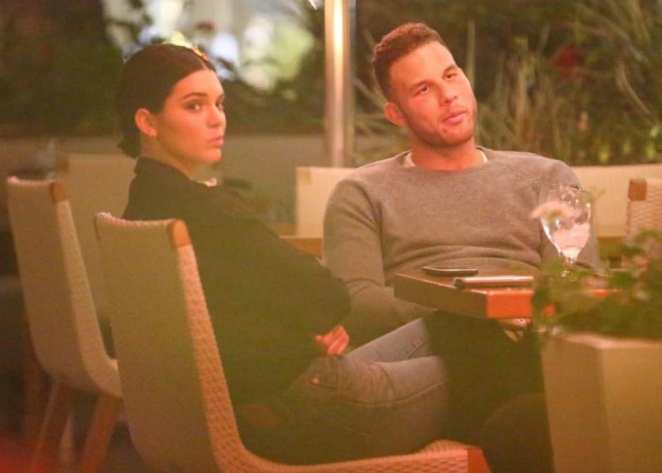 Kendall abandons her sister Kourtney for her beloved Blake Griffin