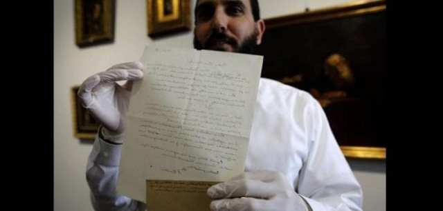 Une lettre d'Albert Einstein vendue à un prix incroyable-(photos)