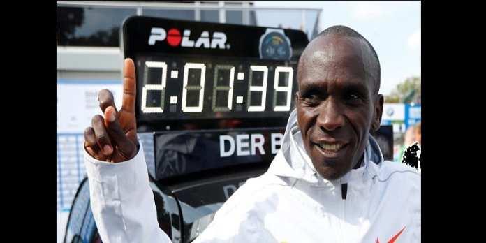 Marathon: Le Kényan Eliud Kipchogé bat un record du monde à Berlin (photos)
