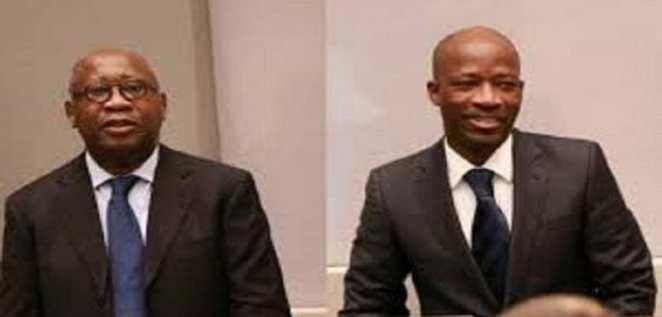 Gbagbo and Blé Goudé