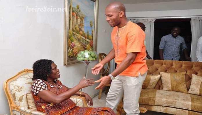 Côte d'ivoire: Drogba rend visite à l'ex-première dame Simone Gbagbo