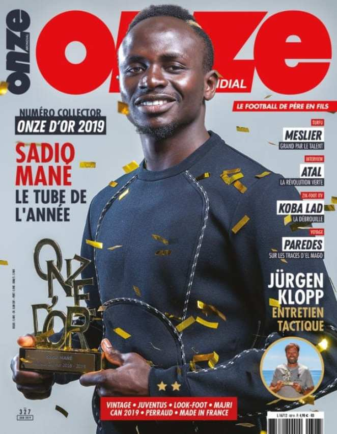 Sport: 15 years after Didier Drogba, Sadio Mané wins the Golden Eleven