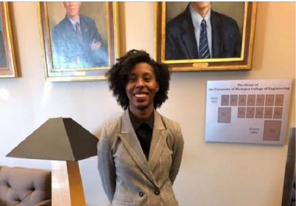 Ciara Sivels, the first black woman to obtain a doctorate in nuclear engineering
