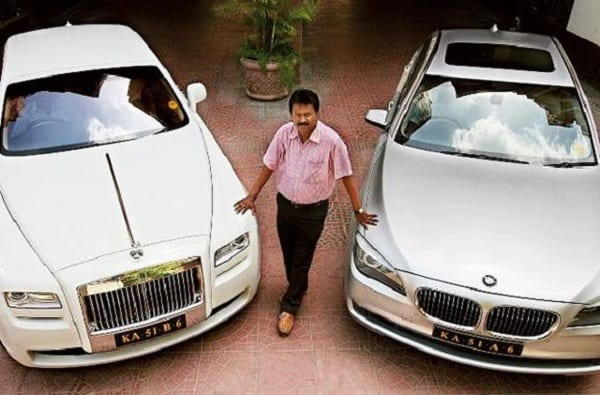 Ramesh, the Indian hairdresser who goes to his living room in Rolls-Royce Ghost