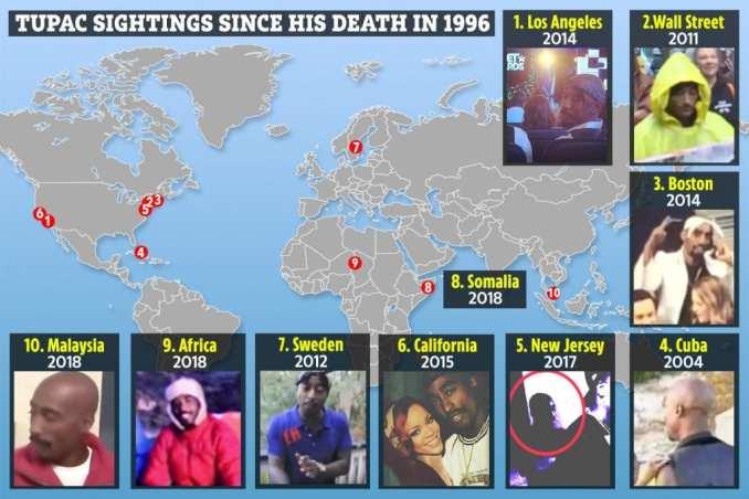 Tupac Shakur toujours vivant ? Une nouvelle théorie de complot suscite une polémique (vidéo)