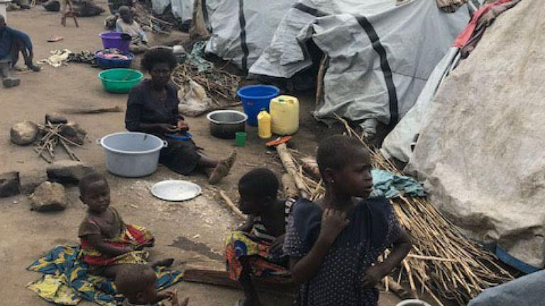 Cries of those displaced in Bunia, DRC
