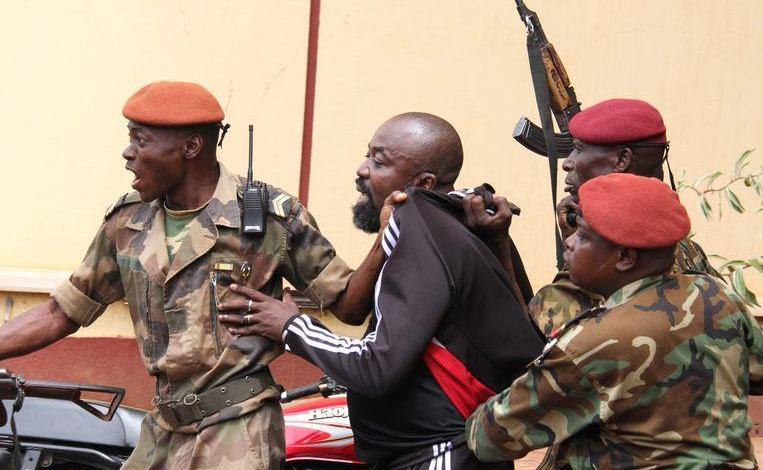 Photo of 'Rambo' African militia leader to International Criminal Court
