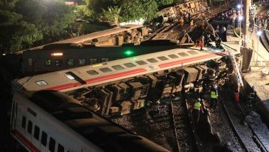 Photo of Design error at the base of train that had an accident in Taiwan