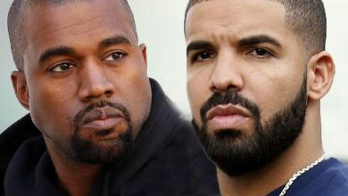 Photo of Vete between Kanye West and Drake escalates again