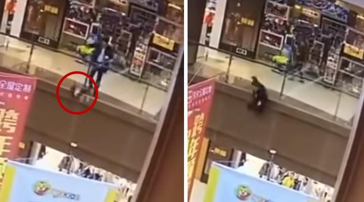 Photo of Man commits suicide after throwing her child from a third floor