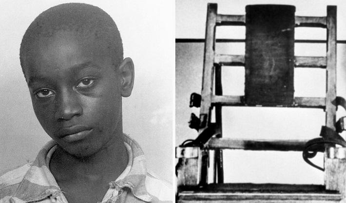 death by electric chair video raynor eurotech ergohuman mesh mid back task black george stinney jr 14 youngest to be executed via