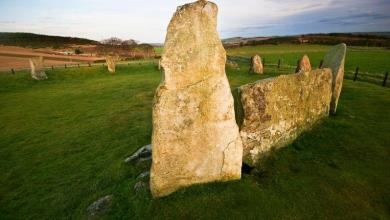 Photo of 4,500-year-old stone circle appears to be fake