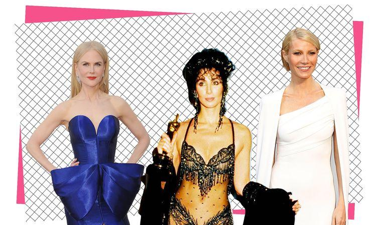 The 15 most memorable dresses from the history of the Oscars