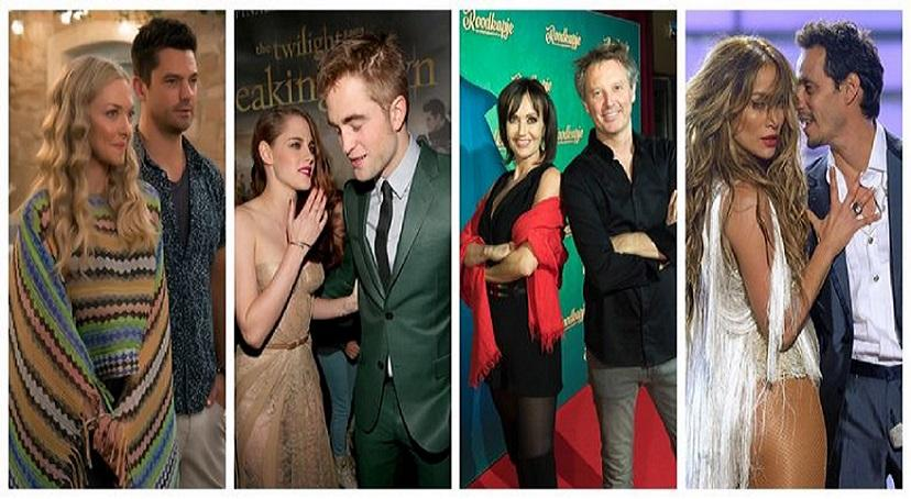 Love may be over, but these ten famous exes still had to work together