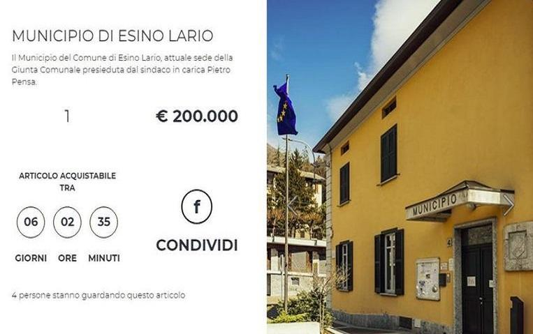 Out of cash: Italian city sells town hall, market and street furniture