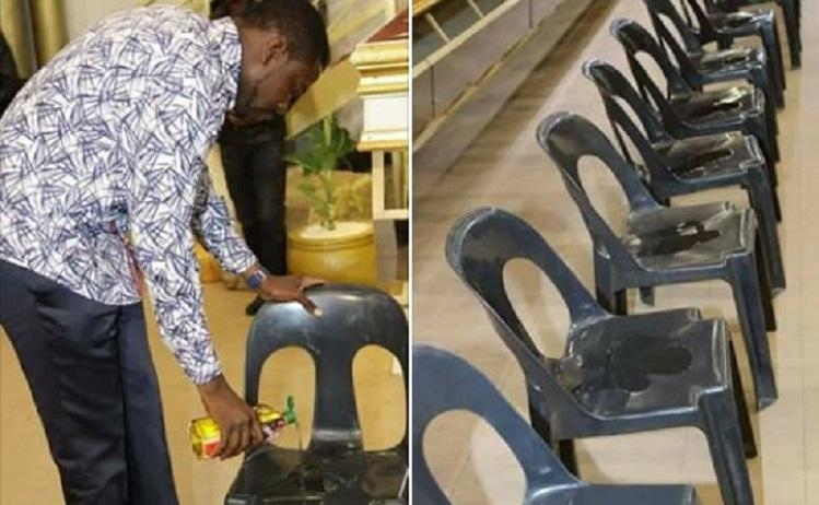 Photo of Prophet magaya charging $500 to sit on anointed chairs [Photos]