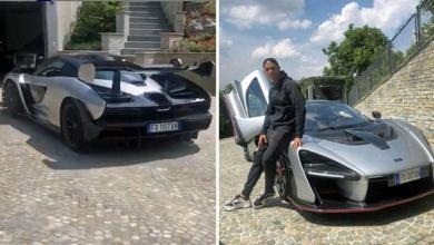 """Photo of Cristiano Ronaldo shows off """"his"""" new (and very exclusive) car"""