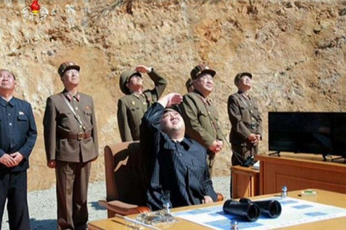 North Korean rocket launches were under supervision of Kim Jong-un