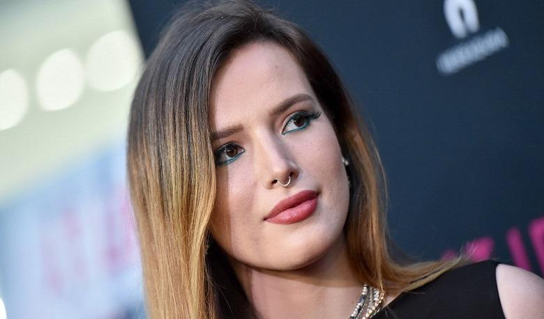 Bella Thorne shared forbidden photos after frightened by a hacker