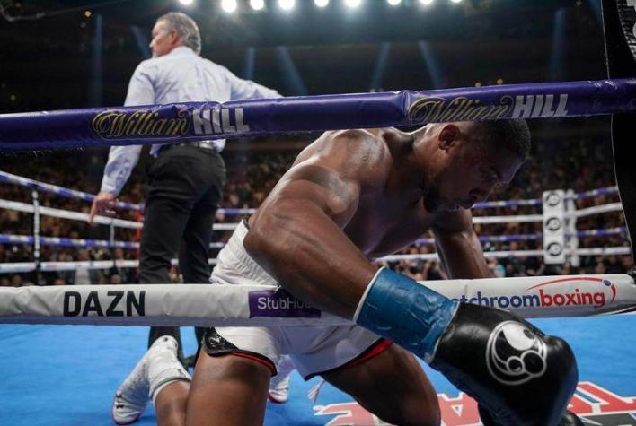 Not unbeatable: Anthony Joshua suffers first defeat in career