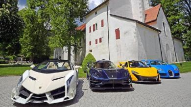 Photo of Supercars of a son of African dictator under the hammer