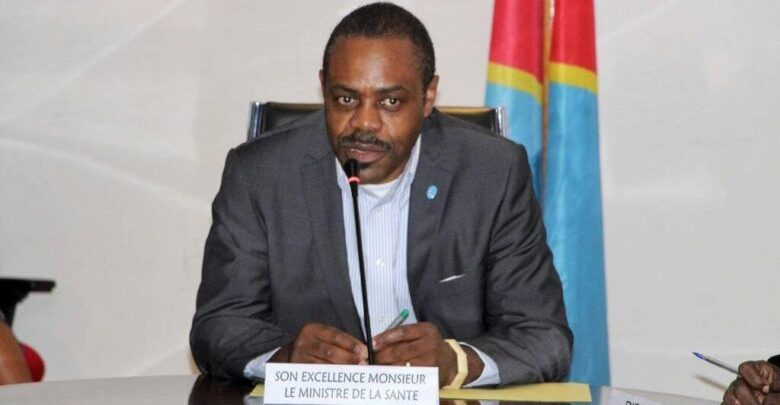 Photo of Congolese minister for Health resigned
