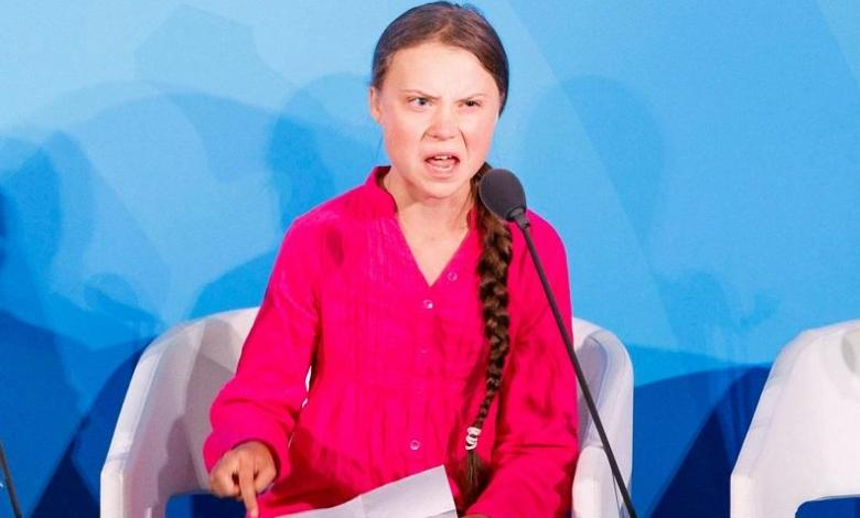 "Photo of Greta Thunberg also celebrates Halloween: ""I don't even have to dress up"""