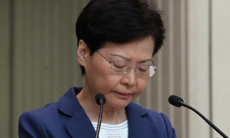 Photo of Carrie Lam warns US not to interfere in Hong Kong