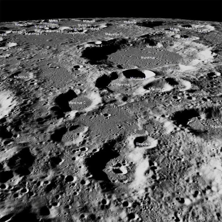 NASA: no trace of a 'crashed' lunar lander