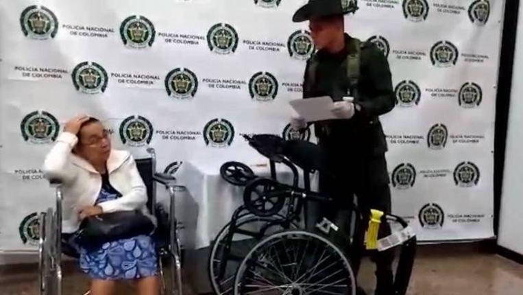 Photo of 81-year-old woman caught with 3 kilos of cocaine in wheelchair