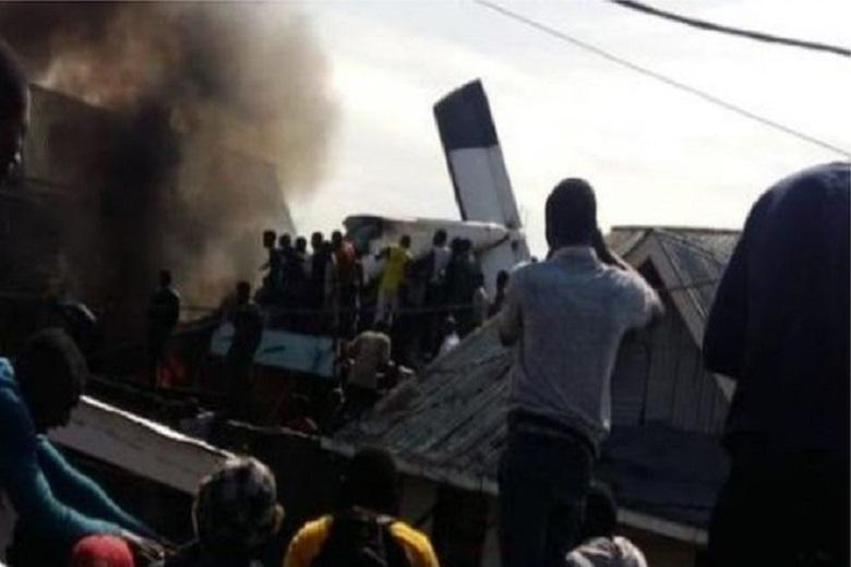 Mapendo residents in Goma City are among 24 people killed in the crash of a small plane belonging to a Congolese airline on Sunday morning