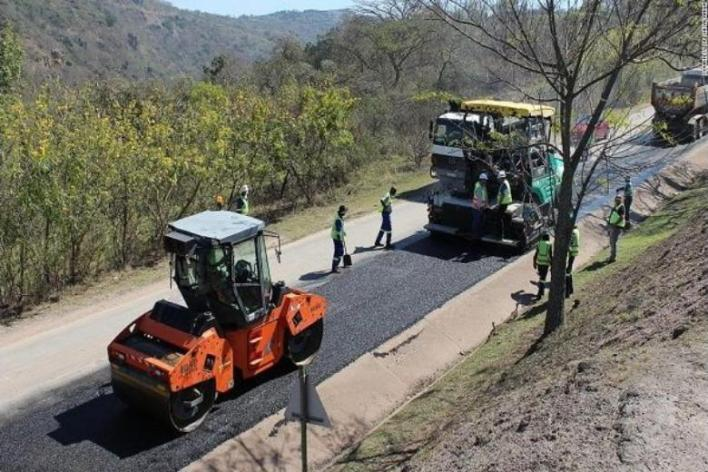The first African country to build roads with recycled plastic