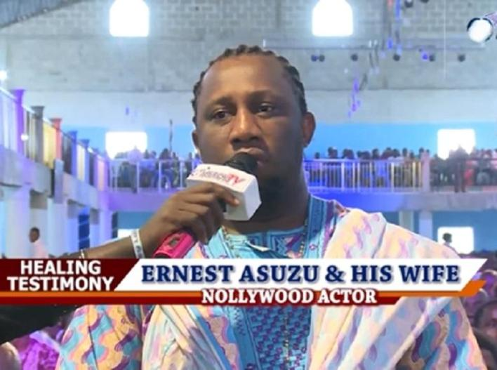 Why actor Ernest Asuzu end up begging without a shirt in Lagos