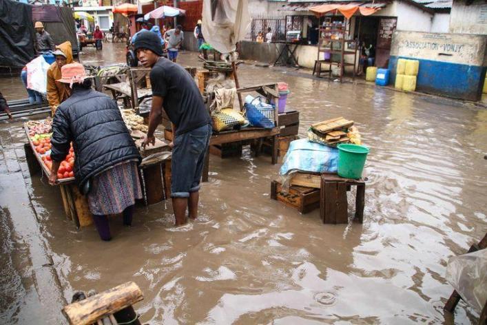 Rain in Madagascar certainly takes 21 lives [photos]