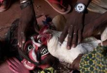 "Photo of Broulaye Camara: ""Malian sorcerer"" who maintains tradition of puppets"
