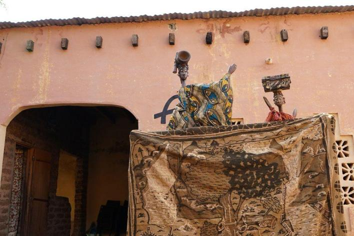 "Broulaye Camara: ""Malian sorcerer"" who maintains tradition of puppets"