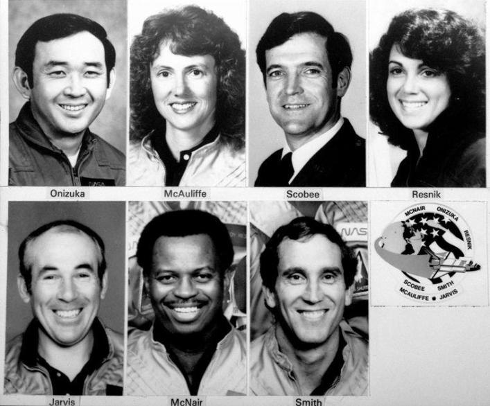 Together with Francis 'Dick' Scobee (46), Michael J. Smith (40), Ellison Onizuka (39), Judith Resnick (36), Ronald McNair (35) and Gregory Jarvis (41), the 37-year-old teacher joined board the Space shuttle Challenger.