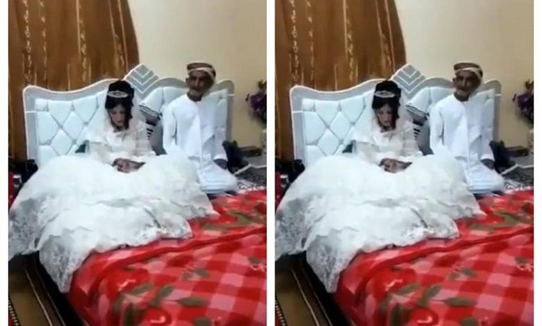 "Photo of ""This is disgusting"": Arab man (80) marries 12-year-old girl [video]"